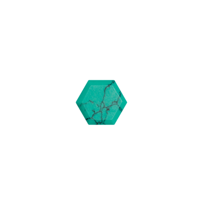 Hexagon Turquoise