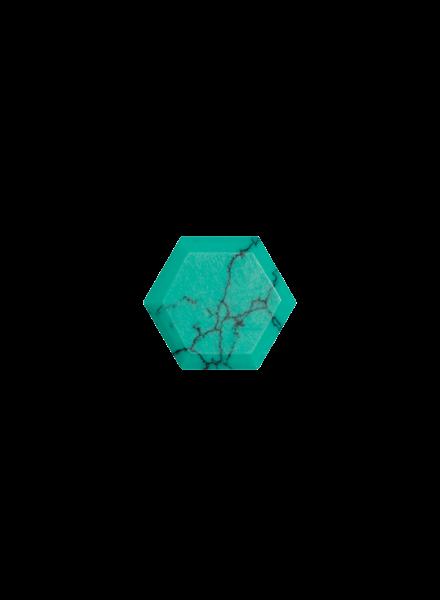 Marissa Eykenloof Hexagon Turquoise