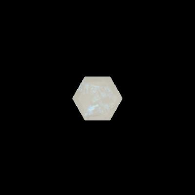 Hexagon Regenboog maansteen