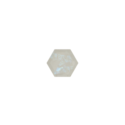 Hexagon Rainbow Moonstone