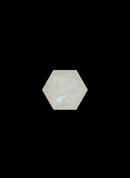 Marissa Eykenloof Hexagon Rainbow Moonstone