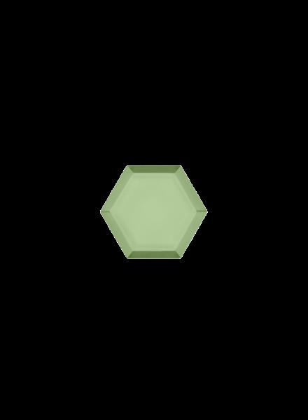 Marissa Eykenloof Hexagon Prehnite
