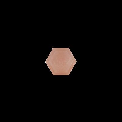 Hexagon Pink opal