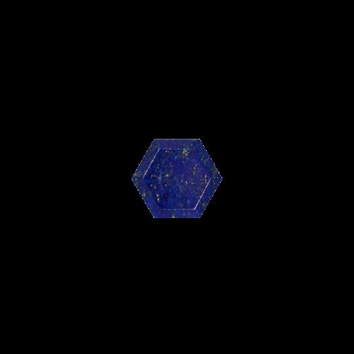 Marissa Eykenloof Hexagon Lapis Lazuli