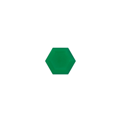 Hexagon Green onyx