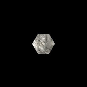 Marissa Eykenloof Hexagon Tourmalinated quartz