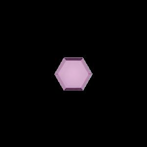 Marissa Eykenloof Hexagon Amethist