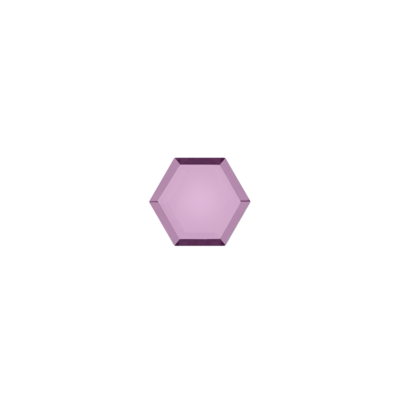Hexagon Amethist