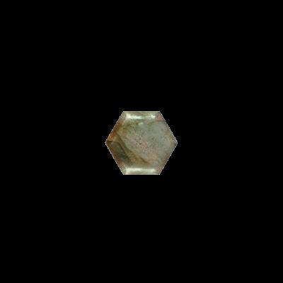 Hexagon Labradorite