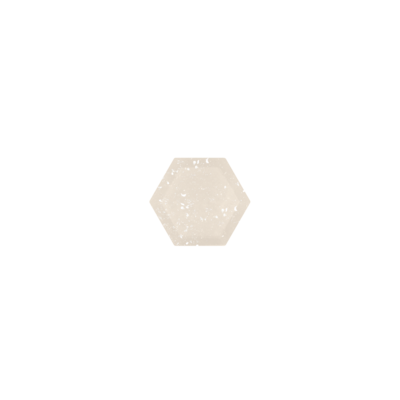 Hexagon Witte Druzy