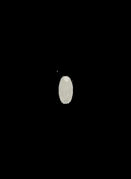 Marissa Eykenloof Oval White agate