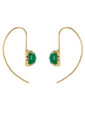 Marissa Eykenloof Sara Gold earring with Green Aventurine