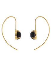 Marissa Eykenloof Sara Gold earring with Black Onyx