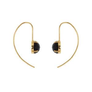 Marissa Eykenloof Gold earring with Black Onyx
