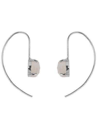Marissa Eykenloof Sara Silver earring with Moonstone