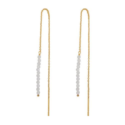 Marissa Eykenloof Gold Eva earring moonstone beads