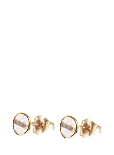 Marissa Eykenloof Fine jewelry: 14ct Gold earring with sliced diamond
