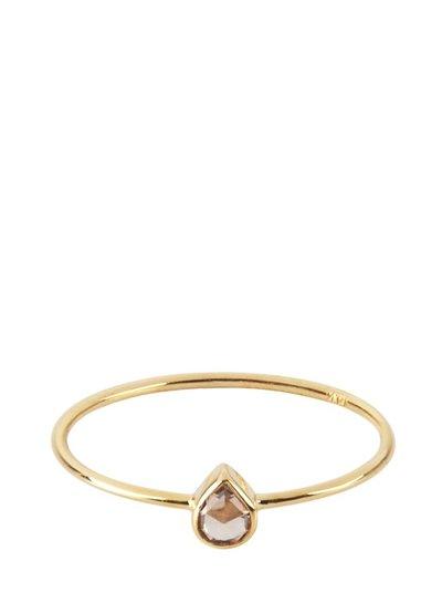 Marissa Eykenloof Fine jewelry: 14k Gouden ring met diamant
