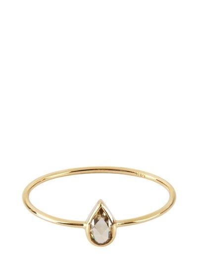 Marissa Eykenloof Fine jewelry: 14ct Gold ring with diamond