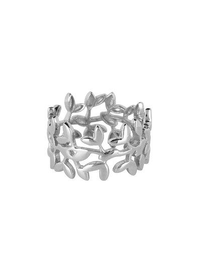 Marissa Eykenloof Nyssa ring breed zilver