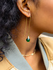 Marissa Eykenloof Georgette Gold earring with Green Aventurine