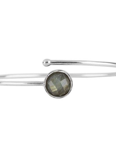 Marissa Eykenloof Silver bracelet Labradorite