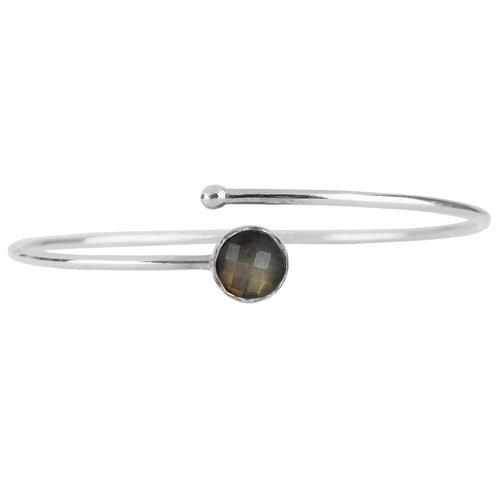 Marissa Eykenloof Silver bracelet Labradorite kids