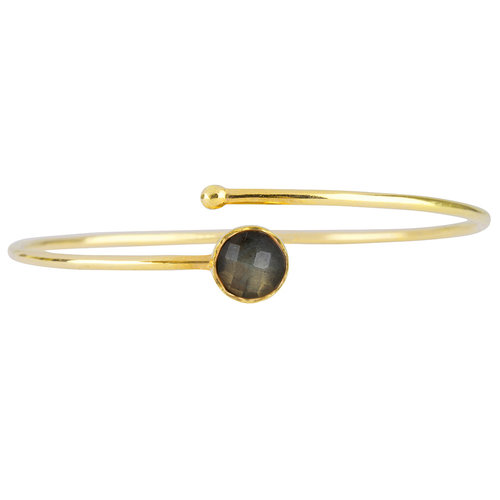 Marissa Eykenloof Gold bracelet Labradorite kids