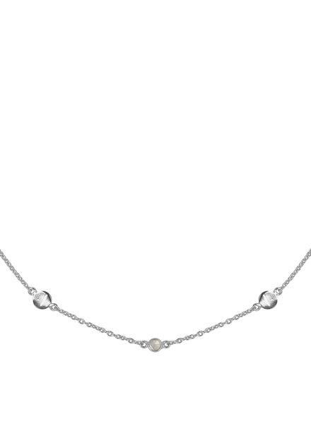 Marissa Eykenloof Zilveren ketting met Bergkristal