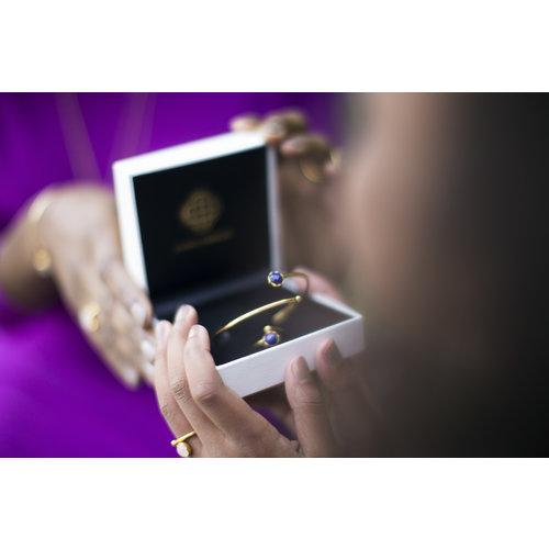 Marissa Eykenloof Gold bracelet Lapis lazuli kids