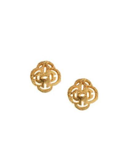 Marissa Eykenloof Stud earring gold