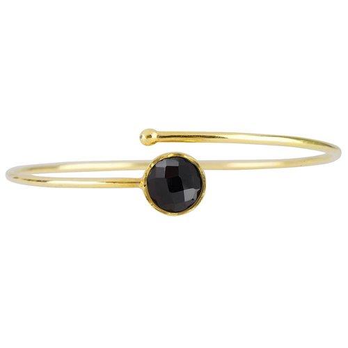 Marissa Eykenloof Gold bracelet Black Onyx