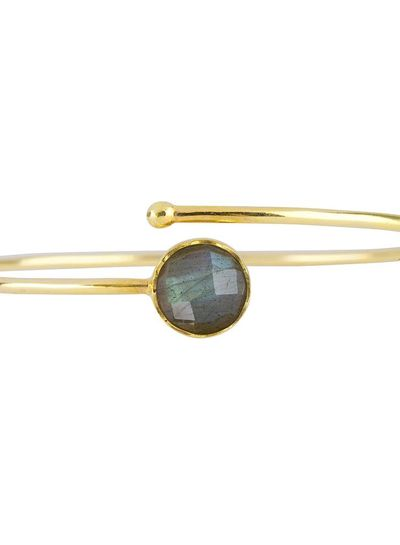 Marissa Eykenloof Gold bracelet Labradorite