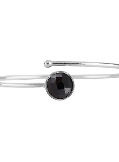 Marissa Eykenloof Silver bracelet Black Onyx
