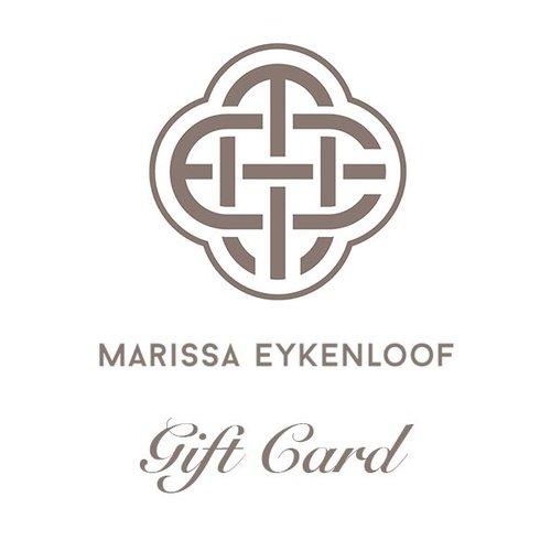 Marissa Eykenloof Gift Card