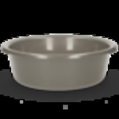 Vplast Inzet / Voerbak 6 l grijs (paard,kalf, schaap)