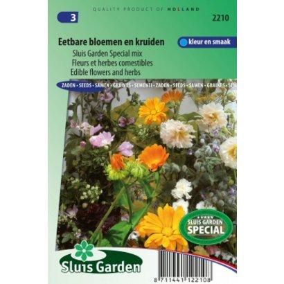 Sluis Garden Mengsel eetbare bloemen kruiden