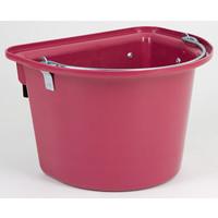 Kerbl Voeremmer met ophanghaken en hengsel, rosé