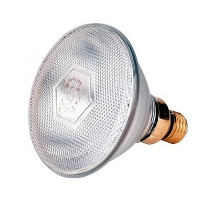 Philips Warmtelamp PAR38 100Watt wit