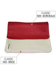 Pavelinni Placemat Rood/Creme N09/N02 - 30x45cm