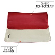 Placemat Rood/Creme N09/N02 - 30x45cm