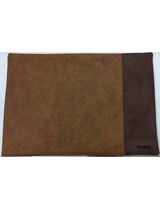 Pavelinni Set de table double Stripe Beige Brun/Brun K09/K05- 30 x 45 cm