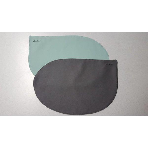 Pavelinni Set de table double Stroke  ACQUA/STONE V14/V16 - 30 x 45 cm