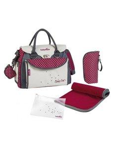 Babymoov Diaper bag Baby Style Chic A043510 Cream / Red - 36 x 28 x 21.5 cm
