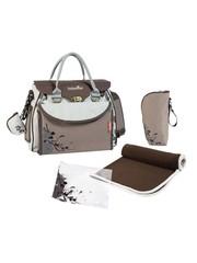 Babymoov Diaper bag Baby Style Natural A043513 Brown / Cream - 36 x 28 x 18 cm