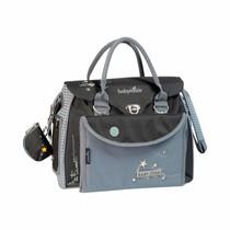 Diaper Bag Style Star A043511 Black/Grey - 36 x 28 x 21,5 cm