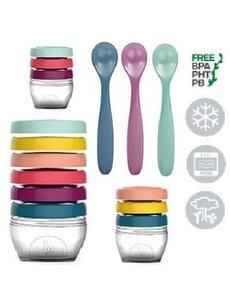 Babymoov Voedingspotjes Babybols Kit XXL A004310 - Gekleurd