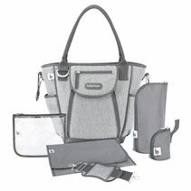 Diaper Bag Daily Bag A043584 Gray - 44 x 33 x18 cm