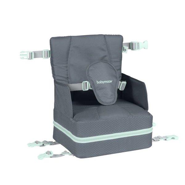 Babymoov Travel high chair / Up & Go high chair A009404 Gray - 27 x 29 x 40 cm
