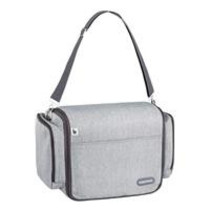 Travel Cot/ Diaper Bag Travelnest Smokey A043602 Licht Grey - 47 x 21 x 30 cm